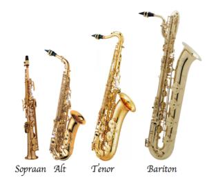 Saxofoonfamilie